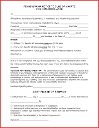 free eviction notice template certificate of training template