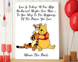 pooh party etsy