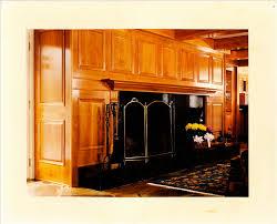 cherry fireplace paneling u2013 yellowhammer woodworks