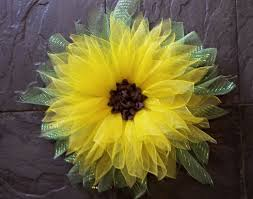 sunflower mesh wreath 134 best wreaths images on garlands door wreaths and