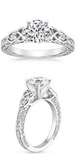 unique engagement ring settings engagement rings latest designs of round cut solitaire