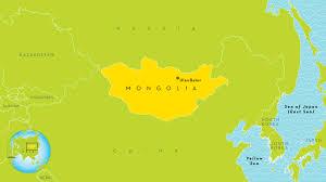 Mongolian Empire Map Mongolia