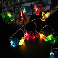 christmas garland battery operated led lights aliexpress com buy 13led fairy happy birthday l battery