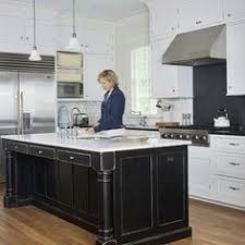 distressed black kitchen island white cabinets with island same as our kitchen indoor