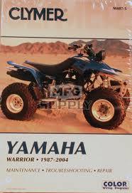 cm487 87 04 yamaha yfm350x warrior repair u0026 maintenance manual