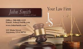 Business Cards Attorney Interest Lawyer Business Card Design 401041