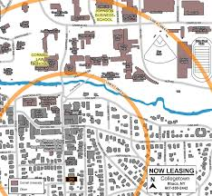 Cornell Campus Map Urban Ithaca