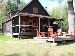 newly renovated lakefront 2 bedroom log cabin on moosehead lake