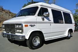 Conversion Van With Bathroom Chevrolet G20 Conversion Van Solar Mini Rv 350 Explorer W Bed Suv