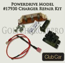 club car powerdrive golf cart battery charger repair kit 48 v