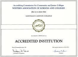 accreditation self evaluation