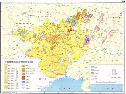 Hmong Map China Carte Linguistique Linguistic Map