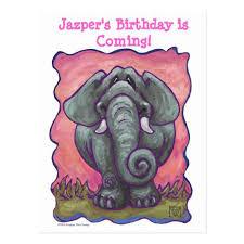 animal parade elephant save the date birthday cards u2013 save the