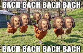 bach bach thanksgiving meme