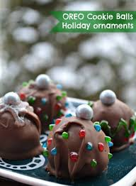 oreo cookie balls ornaments the domestic