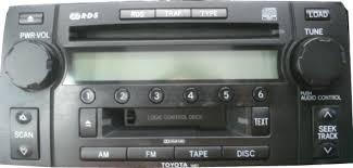 toyota 4runner radio toyota stereo and cd changer repair