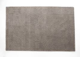 Pattern Rug Contemporary Rug Patterned Wool Rectangular African