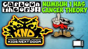 numbuh 1 cancer codename kids door cartoon