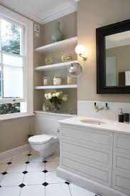 shelving ideas for small bathrooms decorating bathroom shelves houzz design ideas rogersville us