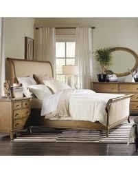 deal alert hooker furniture shelbourne upholstered queen sleigh bed