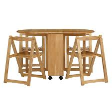 Kitchen Folding Table And Chairs - buy john lewis butterfly drop leaf folding dining table and four
