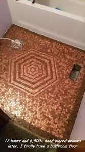 Bathroom Floor Pennies Random Pictures Of The Day 33 Pics