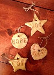 salt dough ornaments recipe going to do this one today we need