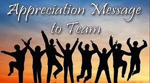 appreciation messages to team team appreciation quotes