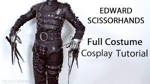 edward scissorhands costume edward scissorhands costume guide tutorial