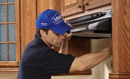 install a range hood