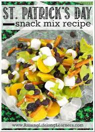 st patrick u0027s day snack mix recipe