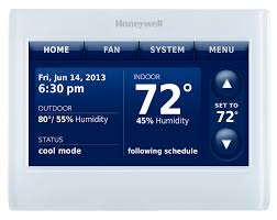 7 day programmable thermostat honeywell prestige 2 0 comfort system