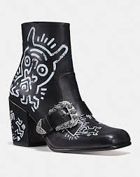 womens leather motorcycle boots canada s boots booties coach