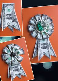 diy money rosette money folding pinterest rosettes leis and