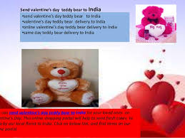 s day teddy send teddy for valentines day best 2017