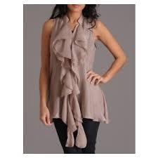 flowy blouses ruffle front flowy blouse by zoa front flowy blouse by zoa