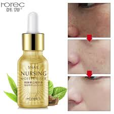 Serum Acne gold snail serum essence acne treatment black remove