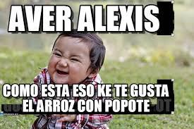 Alexis Meme - aver alexis evil kid meme on memegen