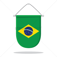 Banners Flags Pennants Brazil Flag Pennant Vector Image 1572820 Stockunlimited