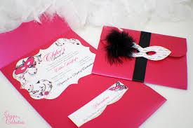 How To Make Invitation Cards Masquerade Invitations Diy Vertabox Com