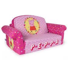 Sofas For Kids by Peppa Pig Marshmallow Furniture Children U0027s Upholstered 2 In 1 Flip