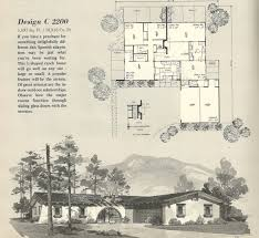 Mid Century Home Plans by Lofty Idea 14 Spanish Mid Century Ranch Home Plans Modern Floor