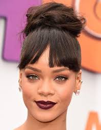 haircuts for high cheekbones the right bangs to flatter your face shape instyle com