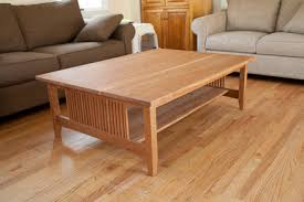 craftsman style coffee table craftsman style coffee table in cherry by quadcap lumberjocks