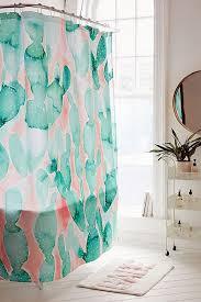 Mint Bathroom Décor Shower Accessories