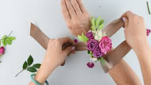 how to make wrist corsage diy wrist corsage