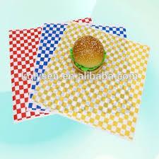 hamburger wrapping paper custom printed standard size hamburger wrap wax paper buy custom