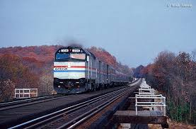 Amtrak Northeast Regional Map by Passenger Train Travel A State Guide