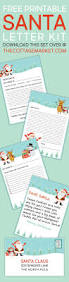 father christmas letter templates free best 25 free printable santa letters ideas on pinterest santa free printable santa letter kit