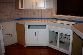 Kitchen Counter Tile Remodelaholic Quick Install Of Concrete Countertops Kitchen